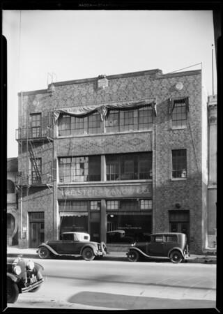 Treister-Yanow Co., Southern California, 1931
