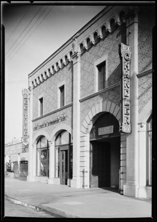 Lee Tire Co., 1640 South Figueroa Street, Los Angeles, CA, 1925