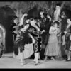 Scenes of play on stage, Mission play, San Gabriel, CA, 1930