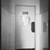Swinging door in Angeles Hospital, Eells versus Angeles Hospital, Southern California, 1930