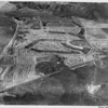 Aerial view, Sun City, Escondido Freeway, Bradley Road, Potomac Drive, Thornhill Drive, future site of Town Hall, Library, Post Office