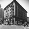 A building on the southwest corner of Ninth Street and Broadway