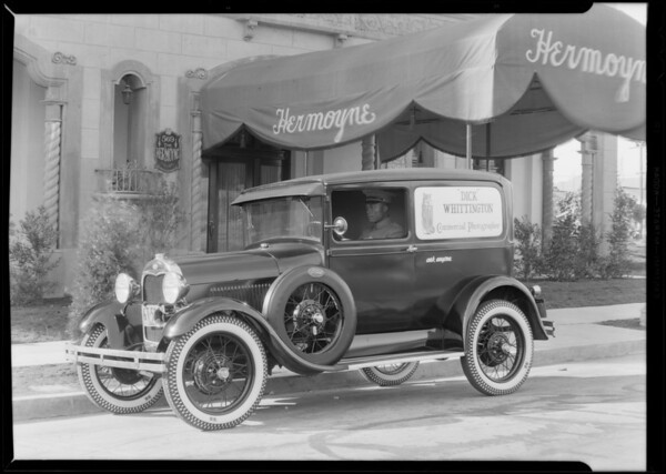 New Ford delivery, Southern California, 1930