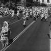 American Legion parade, Long Beach, drum corps in Native American dress