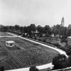 Rose Garden, University of Southern California (USC) in background