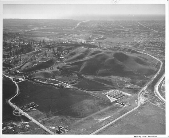 Aerial view of looking southwest from Baldwin Hills