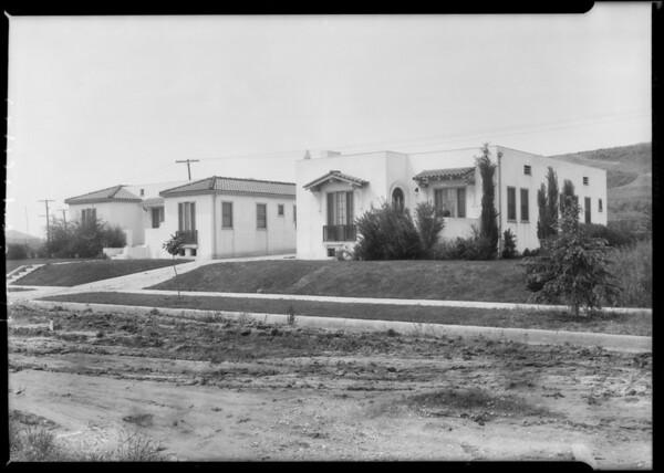 Midwick tract, Mr. Adams, Southern California, 1927