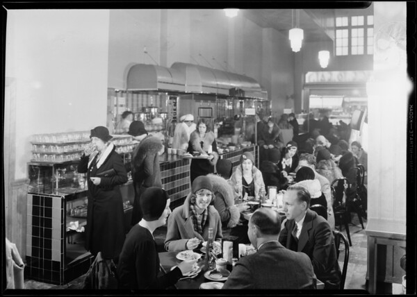 Supreme dairy lunch, Southern California, 1931