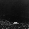 A huge crowd gathers at the Hollywood Bowl for a Symphony Under the Stars