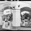 Union Oil station, South Wilton Place and Wilshire Boulevard, Los Angeles, CA, 1932