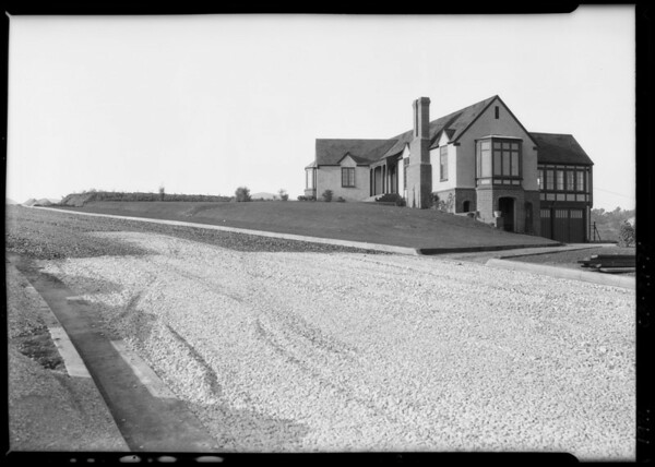 Houses in Brentwood Park, Los Angeles, CA, 1926