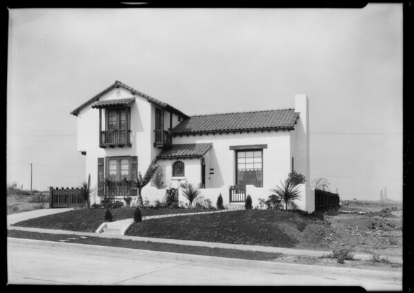 Beverly Hills Heights, Mr. Robinson is the man, Beverly Hills, CA, 1926