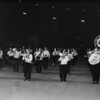 Shriner's band marching at night