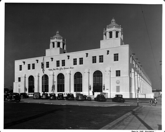 Terminal Annex Post Office Building on Macy Street across from Union Station