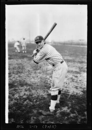 Knights of Columbus baseball team, Southern California, 1926
