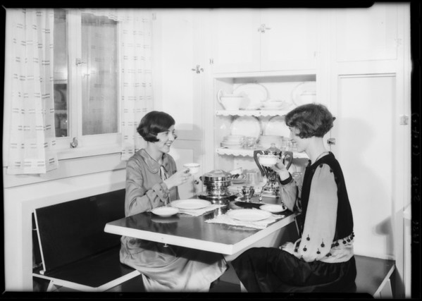 Electric display in basement, Mr. Kinsey, publicity, Mossella in charge, 207 South Broadway, Los Angeles, CA, 1926
