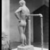Clay model, Chouinard School, Los Angeles, CA, 1930