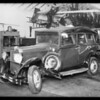 Dodge sedan, Pelton Motor Co., owners, Pacific Indemnity, Southern California, 1931