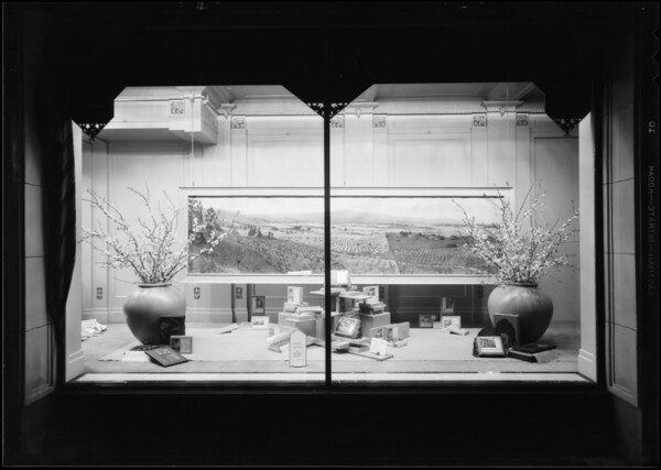 Prime windows for Aunt Jo, 307 South Figueroa Street, Los Angeles, CA, 1930