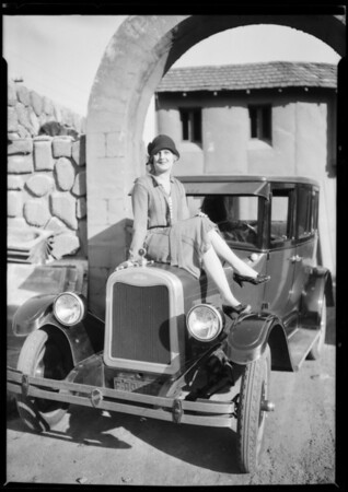 Chevy at Hal Roach Studios, Southern California, 1926