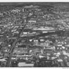 Aerial view of Los Angeles looking north on Alameda Boulevard, from Vernon Avenue