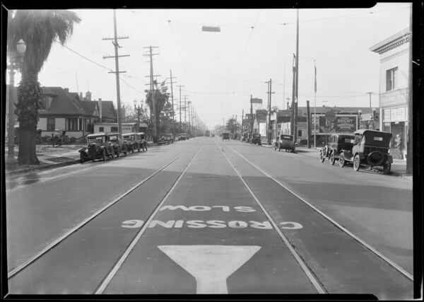 Intersection, West Pico Boulevard & South Ardmore Avenue, Los Angeles, CA, 1929