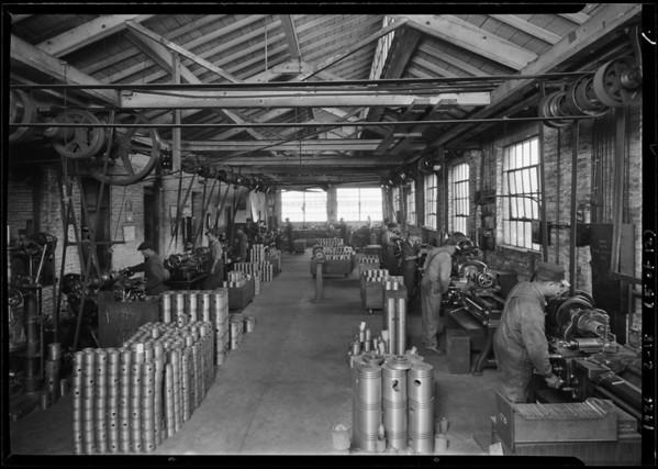 Johns Piston Works, Southern California, 1926