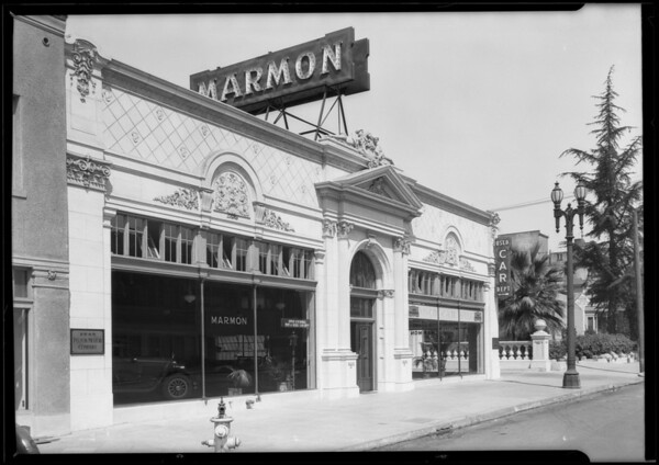 Front of building, Southern California, 1925