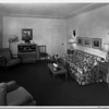 Residential home interior of 1948, living room