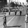 Soldiers from Alabama march in an American Legion Parade