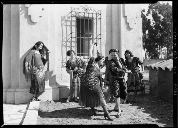 Shots for Mr. Sproul, Mission Play, Southern California, 1927