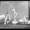 Statues, May Co., Southern California, 1931