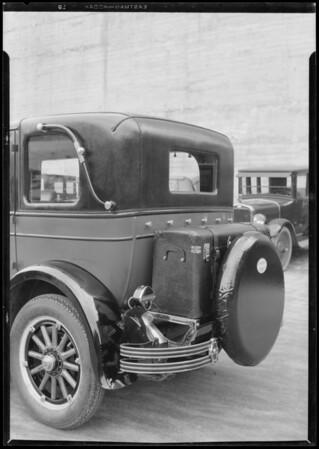 Oakland trunk rack, Standard Safety, Southern California, 1926