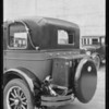 Oakland trunk rack, Standard Safety, Southern California, 1926