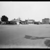 Property at 19th & Wilshire, Santa Monica, also new view  of Hollywood property, Southern California, 1931