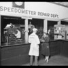 Speedometers department, Southern California, 1926