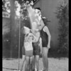 Lawn shower for kiddies with Edward and youngsters, May Co., Southern California, 1931