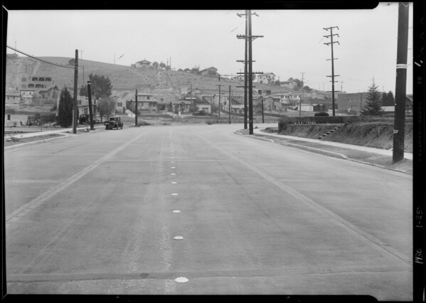 Fletcher Drive near Avenue 35, National Auto Insurance Co., Los Angeles, CA, 1930