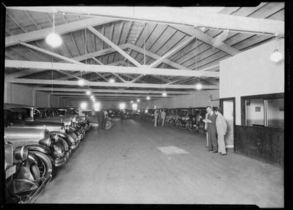 Garage at 542 South Figueroa Street, Los Angeles, CA, 1926