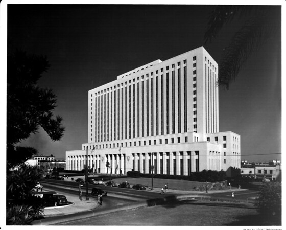 The Federal Building / Post Office in the Civic Center of Downtown Los Angeles