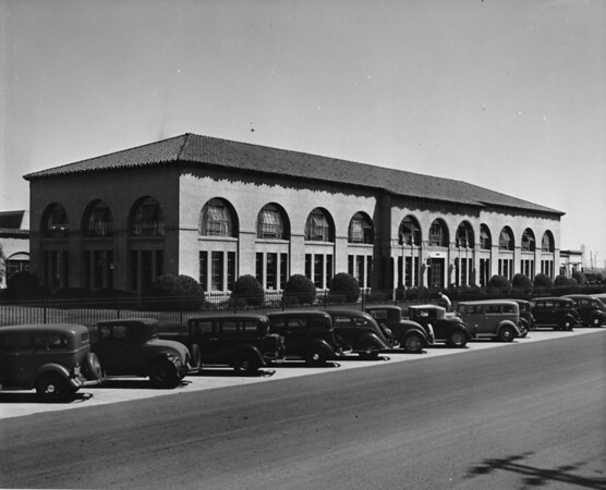 The Chrysler plant building of Los Angeles County