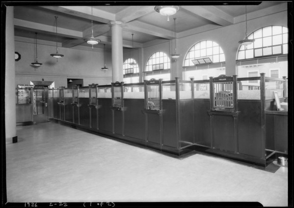 7th & Witmer branch, Pacific-Southwest Bank, West 7th Street & Witmer Street, Los Angeles, CA, 1926