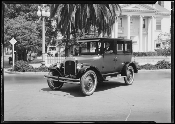 Old car, Chevrolets, Southern California, 1924