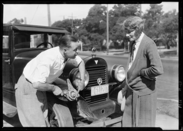 Martin shocks on Hudson, Southern California, 1926
