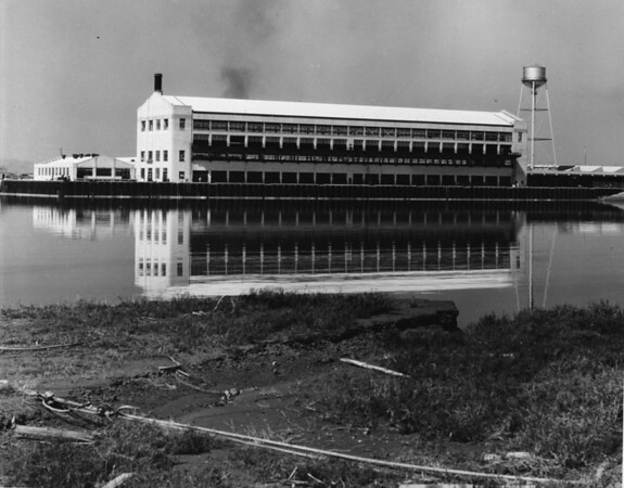 The Ford Assembly Plant located in Long Beach, California