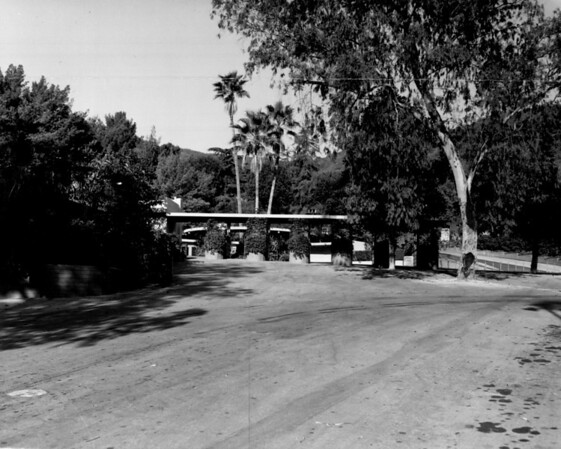 The entrance to the Hollywood Bowl