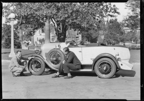 Mr. Madsen's freak Chevrolet, Southern California, 1928