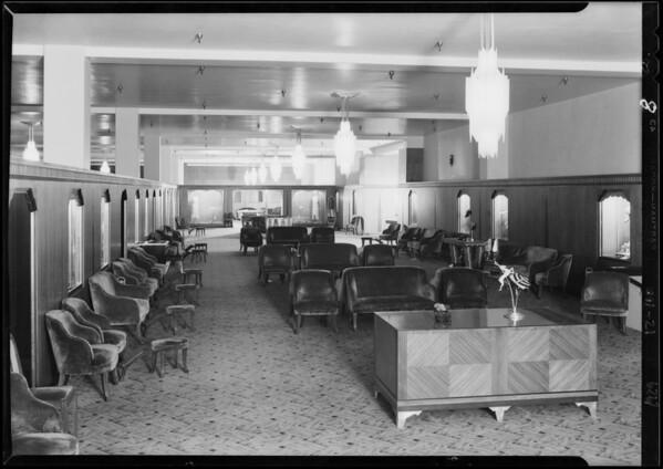 3rd floor finish, Southern California, 1929