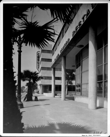 The CBS-KNX Radio building in Hollywood
