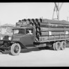 Kelly Pipe Co. truck, Southern California, 1931